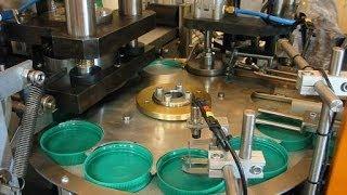 automatic caps wadding machine Wad fixing machine Wad Assembling Machine