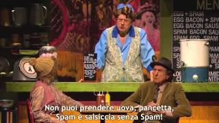 Watch Monty Python Spam video