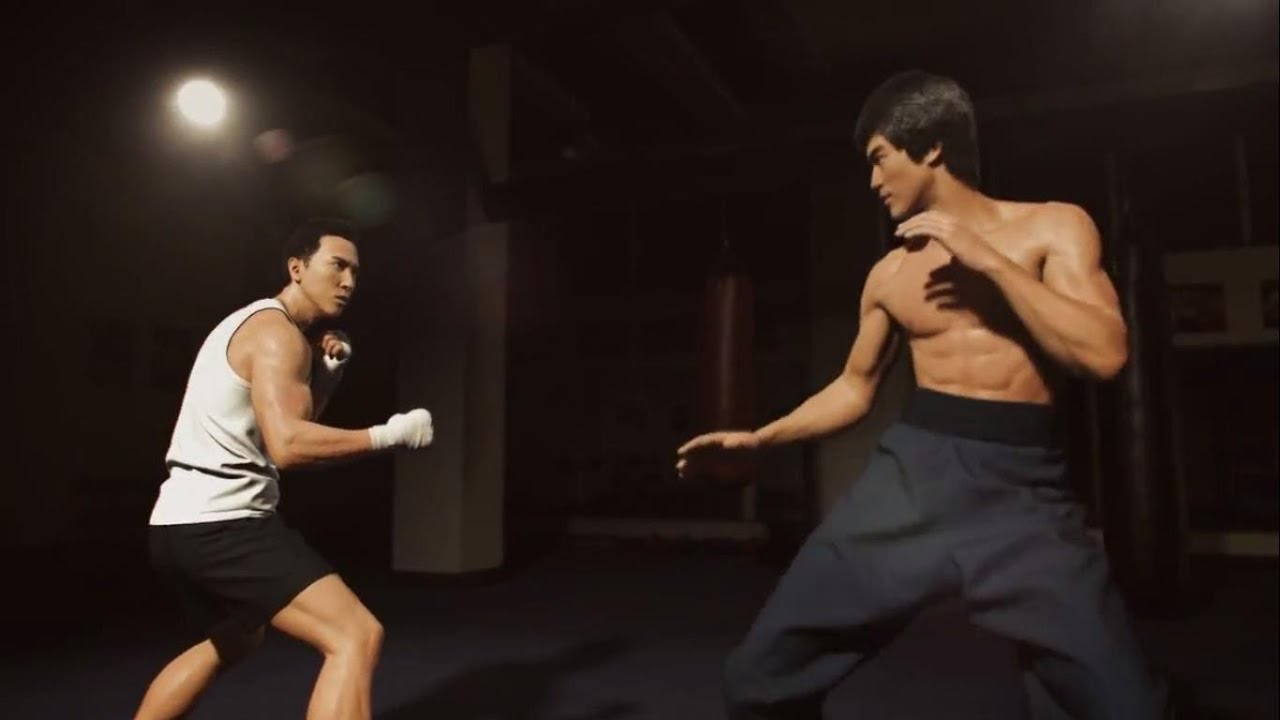Donnie Yen vs Bruce Lee - Official: A Warrior's Dream
