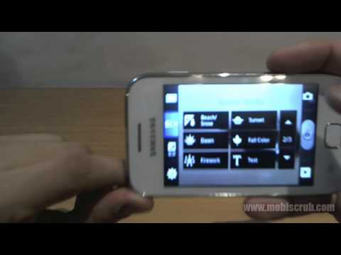 Samsung Galaxy Ace Duos Camera review video