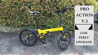 PRO ACTION BICYCLE FOLDING 20INCH EAGLE 2X10SP DESSERT EAGLE 2020