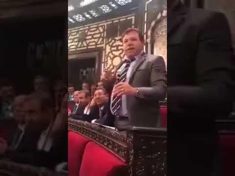 عضو مجلس الشعب محمد قبنض يحظى بسخرية واسعة على مواقع التواصل الاجتماعي
