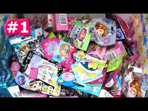 Random Blind Bag Box Episode #1 - Minions, Putrid Pets, Spongebob, Minecraft, Crystal Surprise