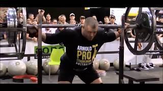Axle Squat-320kgs/705lbs / Arnold Strongman PRO / Australia 2018