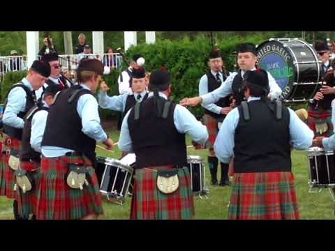 St Columcille United Gaelic Pipe band 2017 Capitol District medley 1st place
