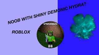 Noob With Shiny Demonic Hydra! +2 LEGENDARY PET CODES | ROBLOX Bubble Gum Simulator