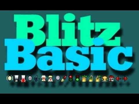 Coding in Blitz Basic - Simple Gravity