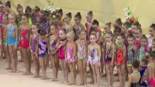 Награждение на соревнованиях по художественной гимнастике в Самаре 03 11 16
