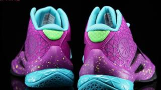 Li Ning Mens Wade All in Team 4 - Night 3M Reflective Purple