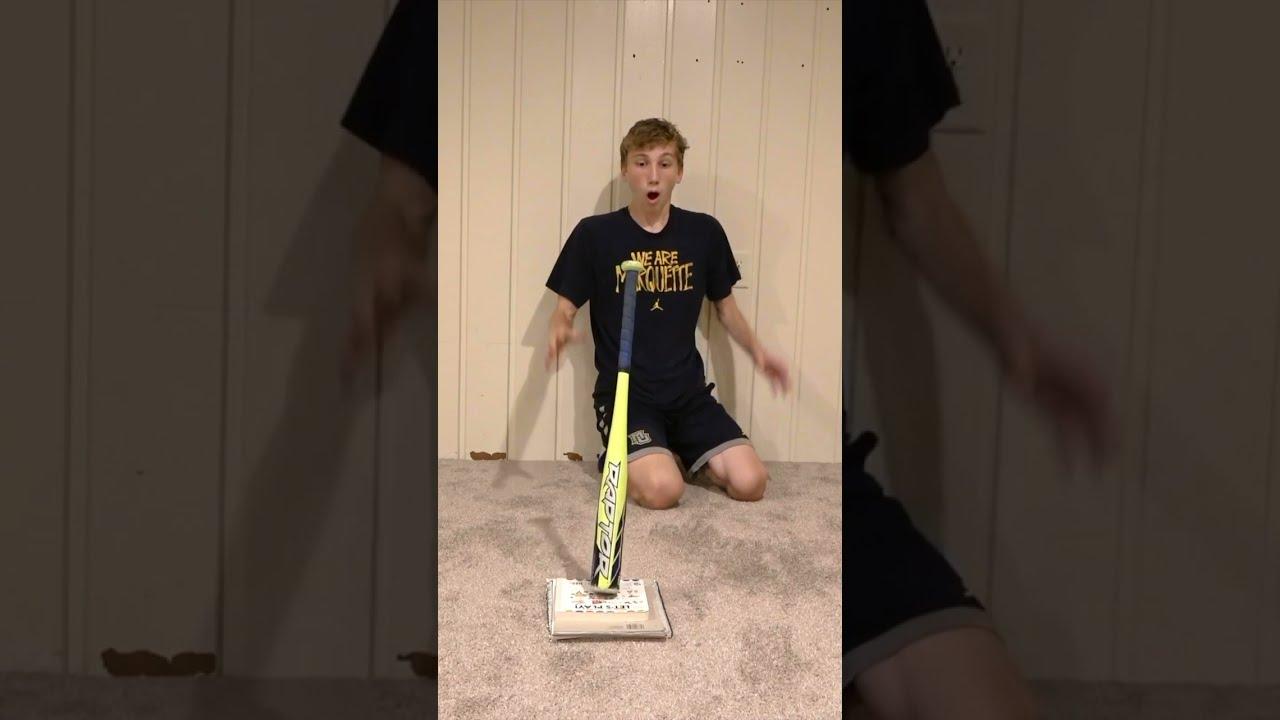 Baseball Bat Flip 😱