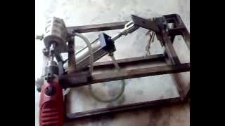 TMT  BENDING  MACHINE mechanical engineering project