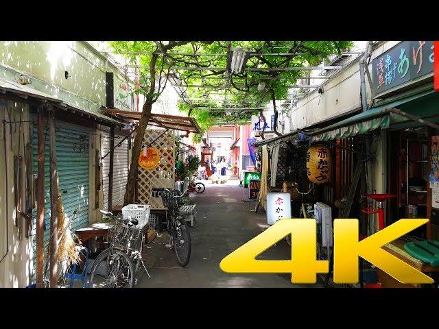 Walking around the back streets of Asakusa 浅草, Tokyo. 4K DJI Osmo Mobile 2