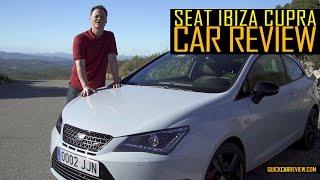 CAR Review: 2016 SEAT Ibiza Cupra Test Drive