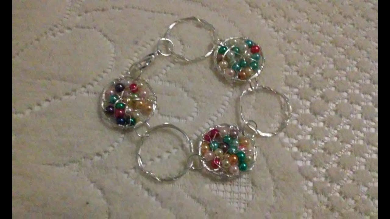 3cdd7fcc6d9a pulseras de moda paso a paso como hacer pulseras de perlas paso a paso  cursos de bisuteria gratis