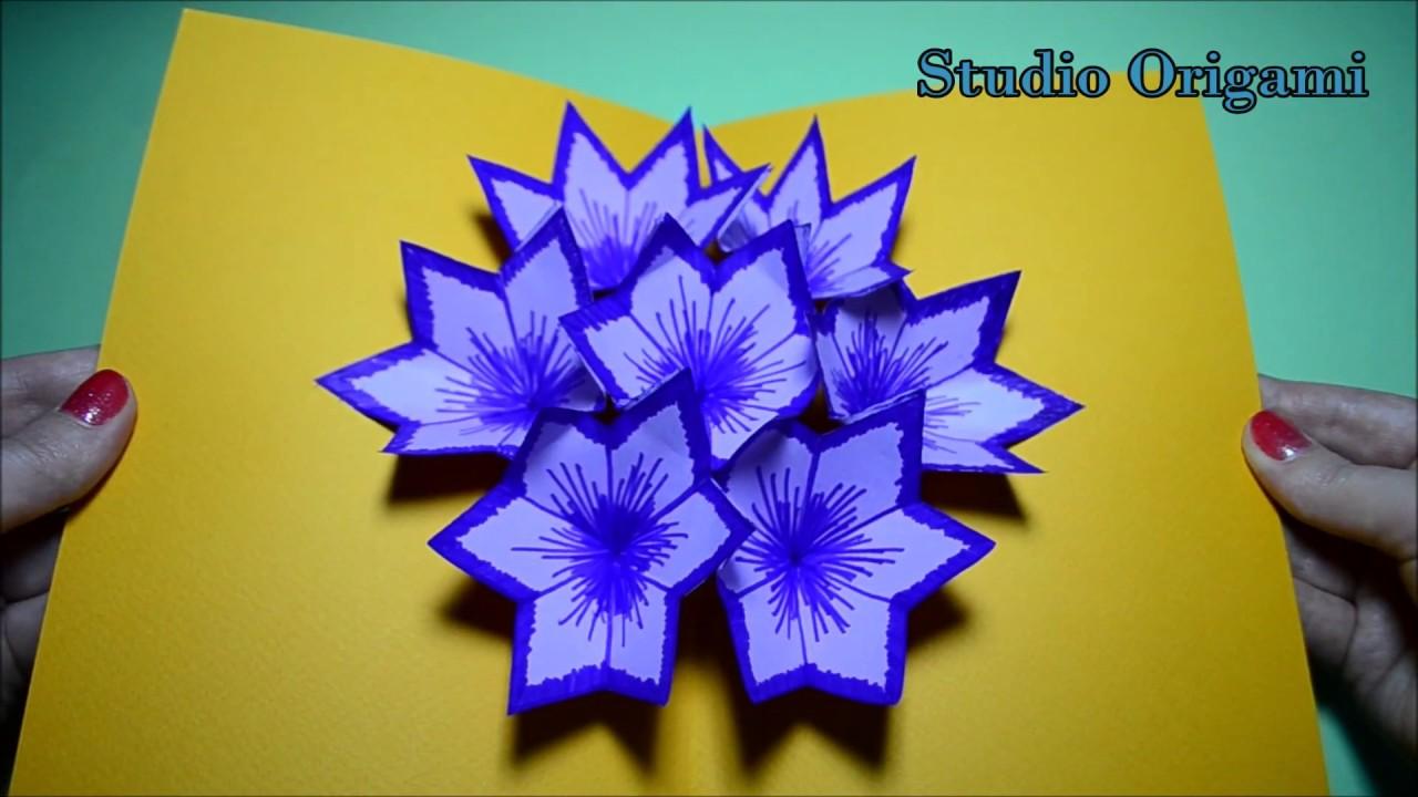 Открытки 3 д оригами
