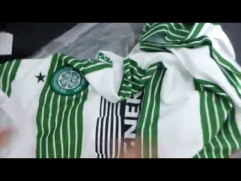 Celtic FC 2014 Nike Home Jersey Unboxing & Review [Full HD]