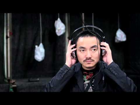"""""""Urban Reflections"""" Interactive Sound installation/Shenzhen, 2005"""