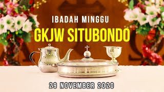 Ibadah Minggu GKJW Situbondo || Setia dan Berjaga-jaga || 29 November 2020