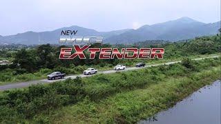 บทพิสูจน์สมรรถนะ MG EXTENDER กล้าท้าทุกเส้นทาง