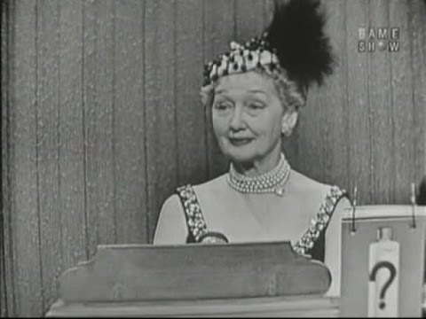 What's My Line? - Hedda Hopper; Peter Lind Hayes [panel] (Apr 22, 1956)