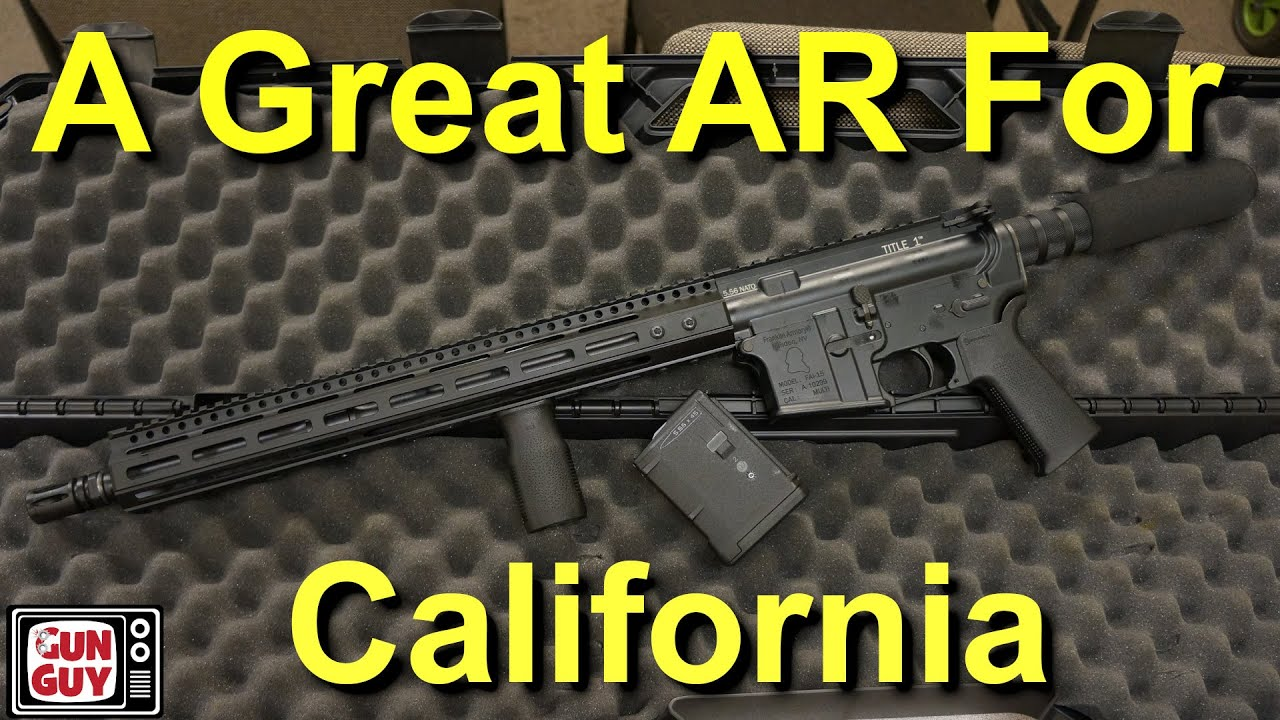 A Great Ar For California The Franklin Armory Title 1 Youtube