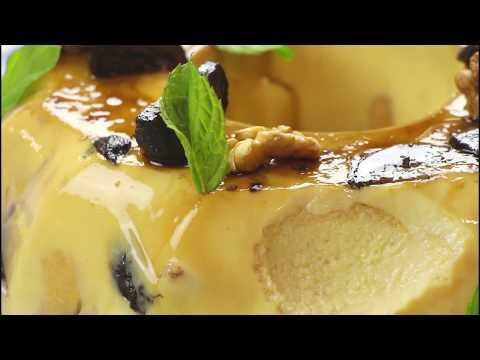 Mon Ami: Κρέμα καραμελέ με γλυκοκαρυδάκι και ξυρούς καρπούς