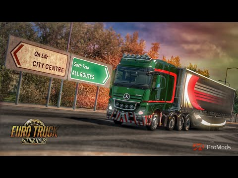 Euro Truck Simulator 2 | Pro Mods 2.20 | Wexford to Limerick