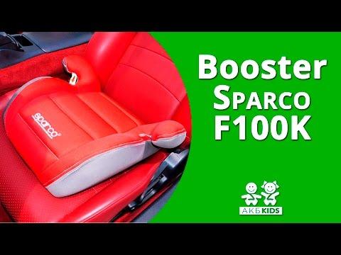 Автокресло Бустер Sparco F100K