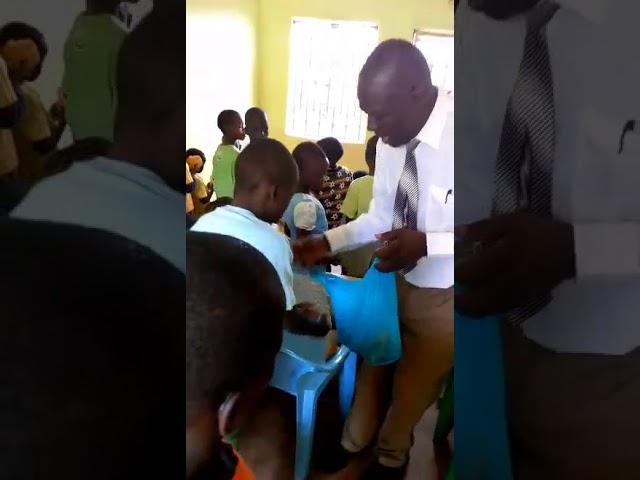 Feeding Children Physical & Spiritual Bread  - GMFC / WFF Mois' Bridge Kenya