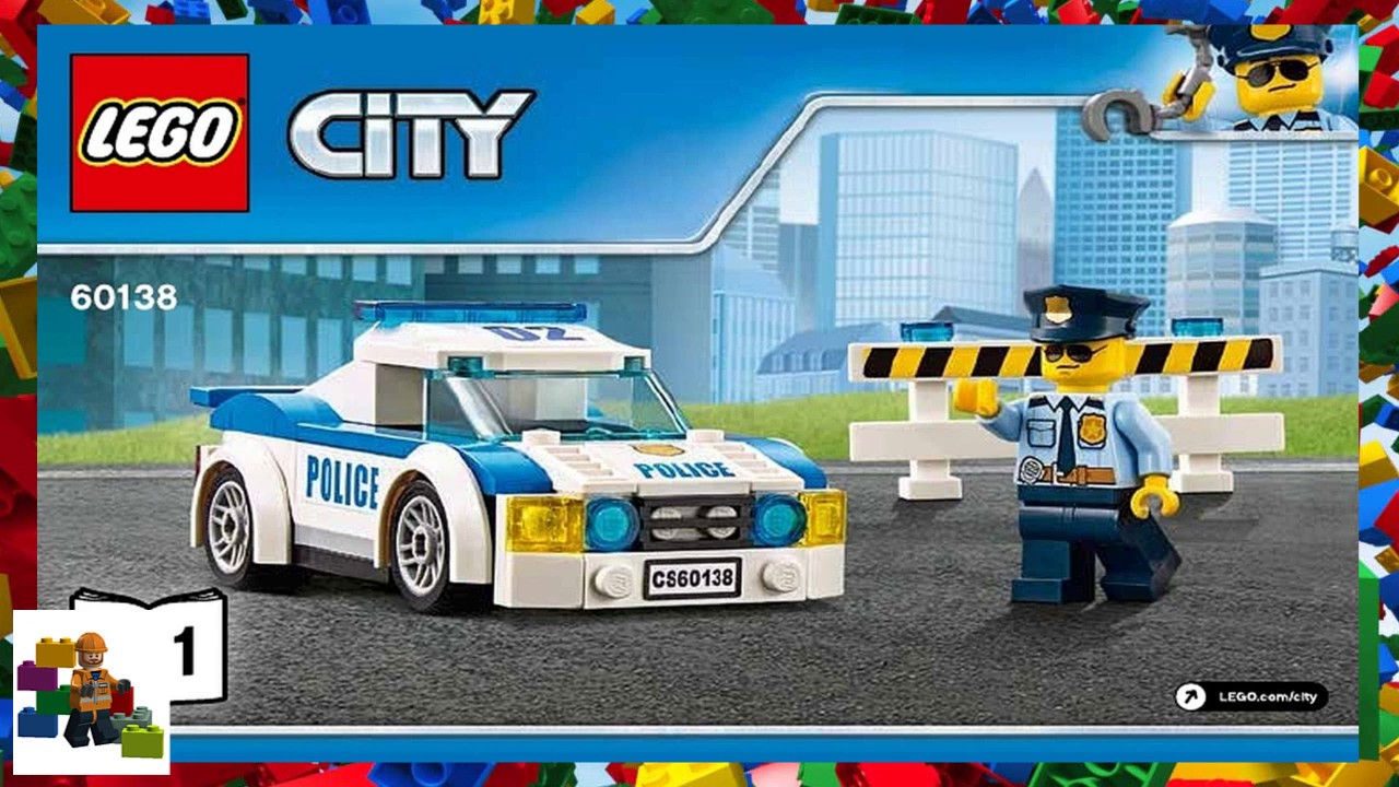 LEGO instructions - City - Police - 60138 - High-speed Chase (Book 1)