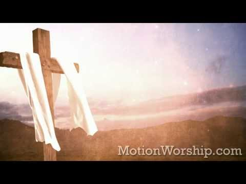 Cross Fabric Bright Sky HD Looping Background by Motion Worship