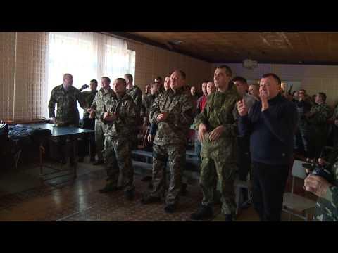 Вінницьких бійців підтримали в зоні АТО піснями