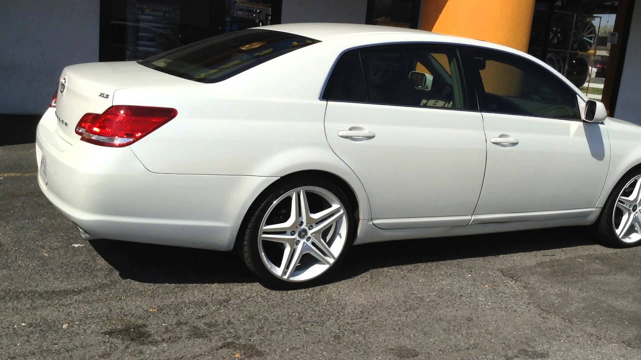 20 Quot Bsi 5055 Rims On A Toyota Avalon Rimtyme Of Hampton