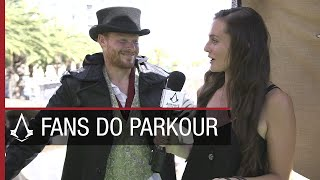 Assassin's Creed Syndicate: Fans Do Parkour At San Diego Comic-Con   Ubisoft [NA]