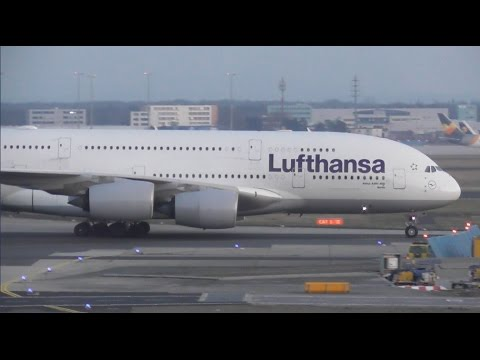 Plane Spotting at Frankfurt Airport, FRA - Terminal Spotting