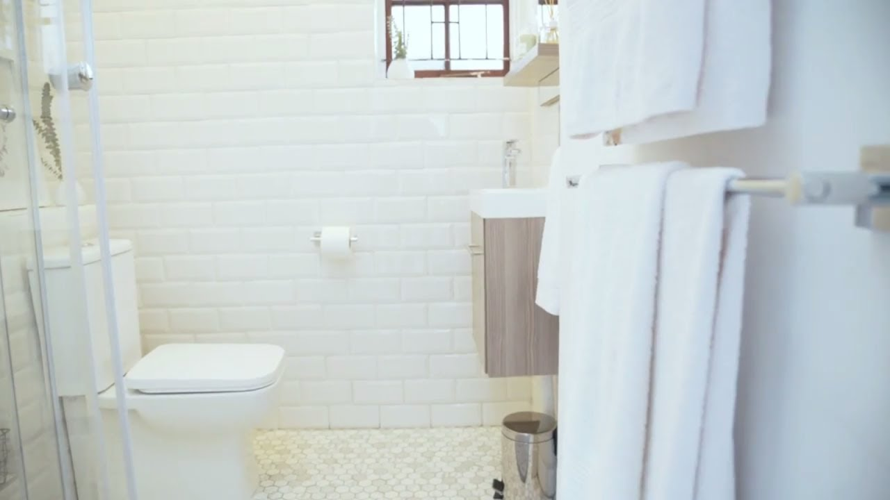 Tile Africa Bathroom Makeover Project - THE BIG REVEAL! - YouTube