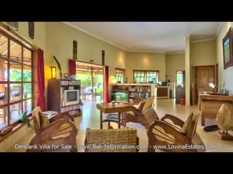 Dencarik Beach Villa for Sale - North Bali Real Estate
