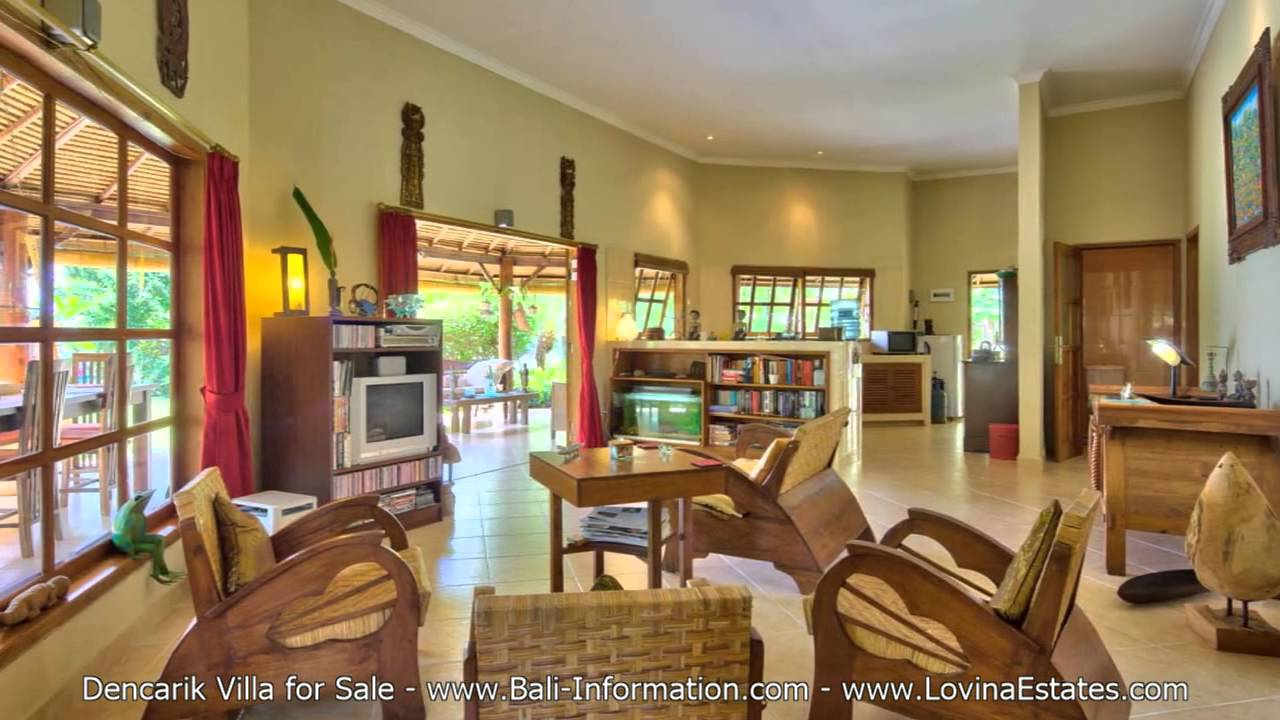 Dencarik Beach Villa For Sale North Bali Real Estate Youtube