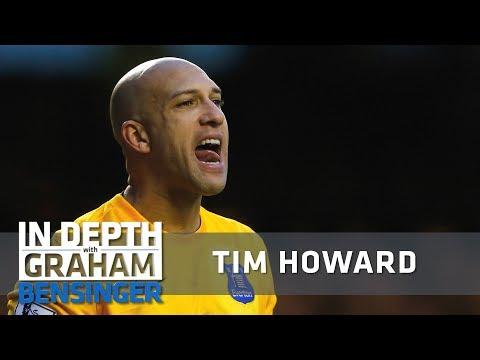 Tim Howard: Why I yell at teammates