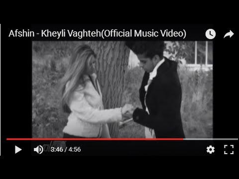 Afshin - Kheyli Vaghteh(Official Music Video)