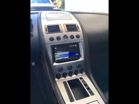 2005 Aston Martin DB9 Aftermarket Radio Installation