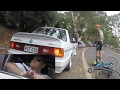 Cyclist Road Rage vs BMW Alpha Dangerous Overtake