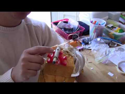 Rocket Pyro Missile Launcher Glove triggered by wired remote control system - How to Make It. Cool!