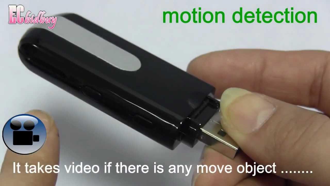 Pen Camera Mini Cam 1080P HD Video USB Flash drive Security Cam