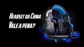 Headset Gamer do Aliexpress vale a Pena?