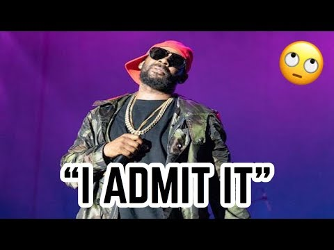 R.KELLY'S BS 19 MIN CONFESSIONS?--GUILTY OR NAH??? I ADMIT - MOST HONEST REACTION