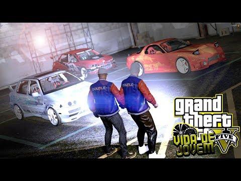 GTA V: VIDA DE JOVEM | INVADIMOS A GARAGEM DOS PLAYBOYS, TOMA O TROCO #EP.105