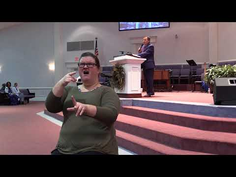 "Sign language interpreted ""Oh I Want to See Him"" sermon 11/15/17"