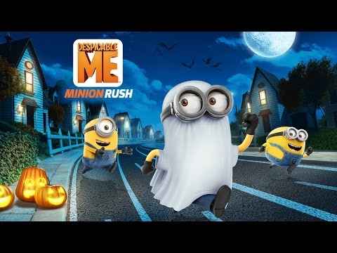 Despicable Me: Minion Rush - Haunted Hustle - Update Trailer