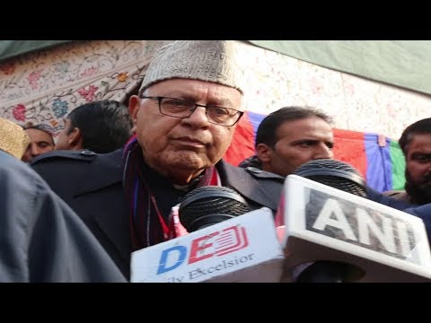 Farooq Abdullah: Grand alliance was formed to save Art 370, Art 35-A